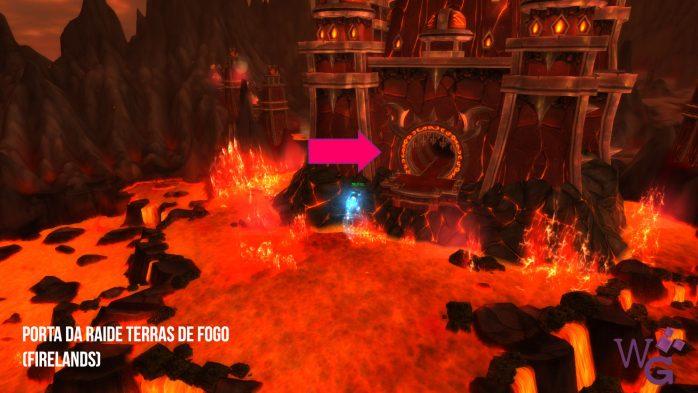 Porta da Raide Terras de Fogo - Firelands
