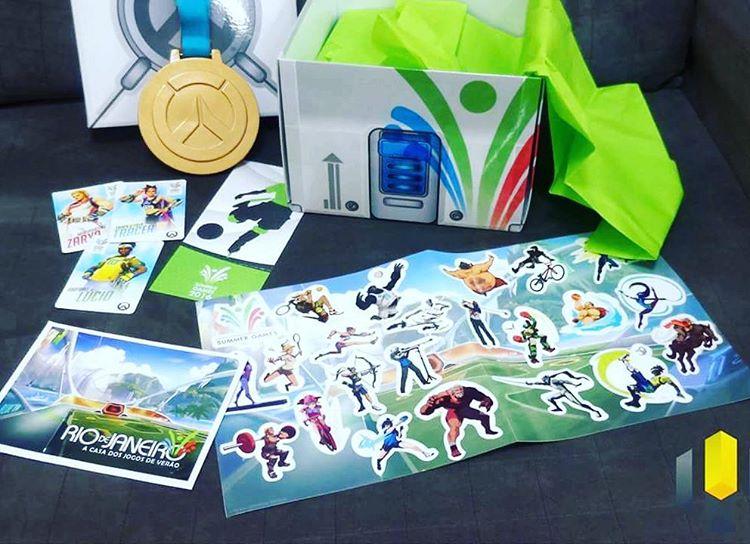 Ontem a flasalves recebeu uma Loot Box dos Jogos dehellip