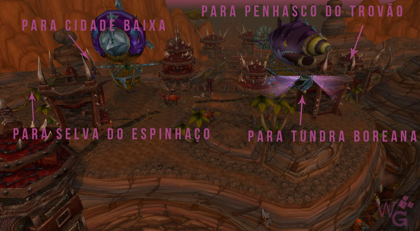 how to get to draenor from orgrimmar