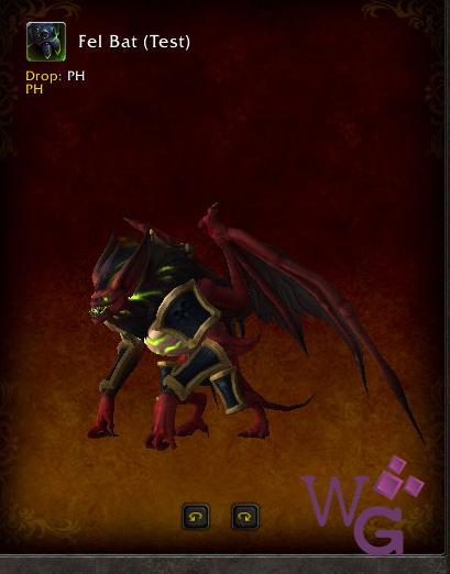 Morcevil - Fel Bat - Montaria Legion
