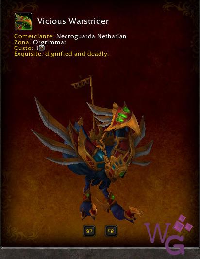 Vicious Warstrider - Montaria Legion