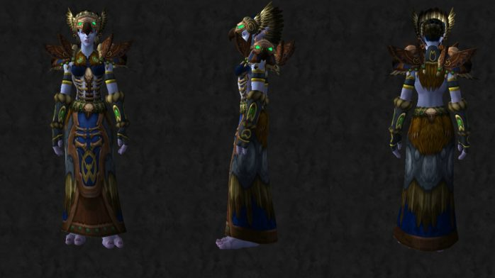 thunderheart azul troll female