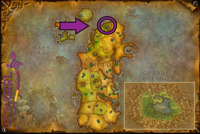Localização - Mapa Missão Guardião do Bosque