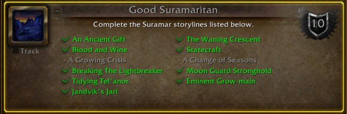 Suramar achievement