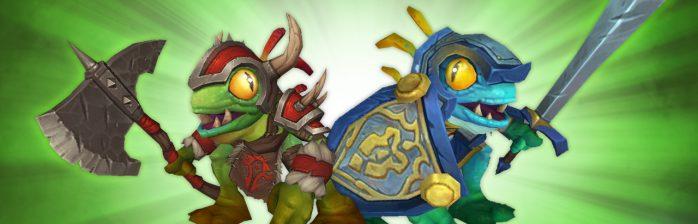 Legionário Murky e Capitão-Cavaleiro Murky no WoW