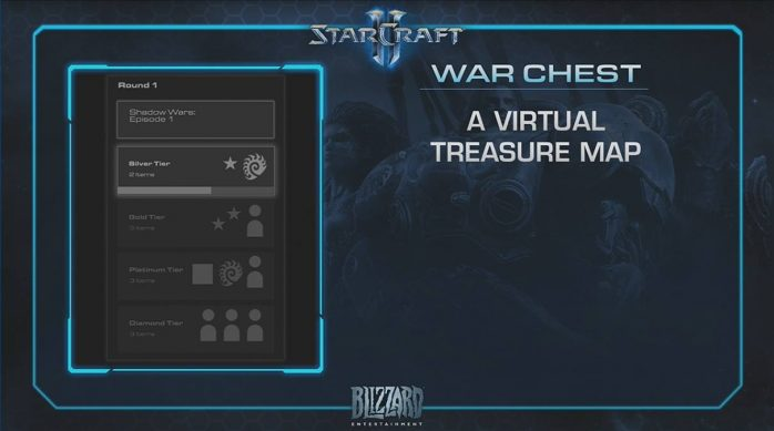 StarCraftII War Chest Baú de Guerra